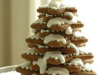 Ciastka w roli świątecznych dekoracji :)))