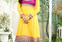 Neha  Sharma / Designer Salwar Suits