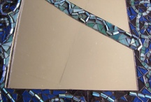 Glass. Love it. / Mosaics, stained glass and ideas / by Temple Pennison