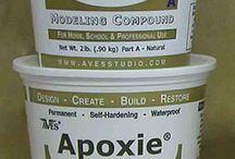 Apoxie / Wearable art jewelry