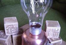 Recycle & Repurpose: Lightbulbs / by Em Smith