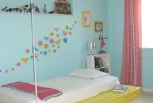 bedrooms / by Pam Tipton