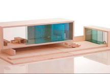 Casas de muñecas modernas / Casitas de muñecas de diseño moderno.