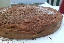 Tarta de Chocolate, Moka y Galletas