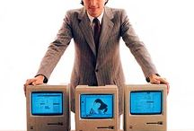 Apple / Näitä Applen laitteita olen käyttänyt osana työtä, opiskelua tai vapaa-aikaa. Apple II:sta ja ensimmäistä Macintoshia en tosin ole käyttänyt, mutta laitoin ne mukaan silti:)