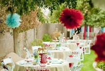 Garden Party Ideas / Now that summer has (nearly) arrived, here are some elegant ideas for holding afternoon tea in the garden. / by Party Ark
