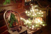 Porche de navidad