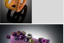 colares de feltro