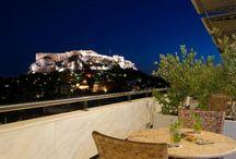 Greece Honeymoon / A Romantic Honeymoon that visits Athens, Mykonos, and Santorini.