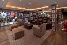 Man Caves / For when the kids leave and you get that extra bedroom back.
