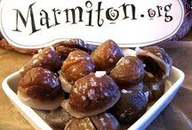 marron glacé recette