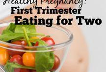 Pregnant healthy