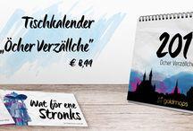 """Aachen Kalender """"Öcher Verzällche"""" by goldmops / Wir starten mit der Rubrik """"Öcher Verzällche"""". Ab sofort könnt ihr bei Phillip Leisten 2.0 in Aachen oder im Pixelwald in Alsdorf den Kalender für alle Lebenslagen kaufen."""