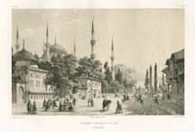 Ottomanische Bilder und Porträts