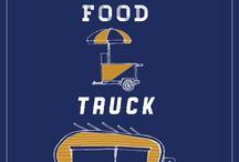 food trucks and carts