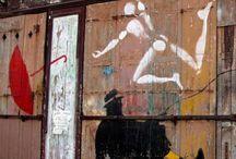 Street art Nemo et  jérôme mesnager