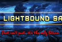 The Lightbound Saga / My YA Scifi book series