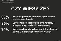 Pozycjonowanie Stron Internetowych - SEO / Ciekawostki i statystyki na temat skutecznego pozycjonowania stron w wyszukiwarce internetowej Google
