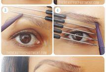 Makeup, contouring