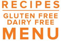 Gluten Free Dairy Free Menu May 2015 / Nothing says summer like strawberries and our May GFDF Menu is full of them. From breakfast like muffins and chia pudding to Cilantro Lime Grilled Chicken with a fantastic fruit filled salsa and Almond Strawberry Stuffed Chicken Breast - you will not be disappointed! / by Once A Month Meals