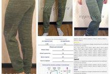 spodnie z welny