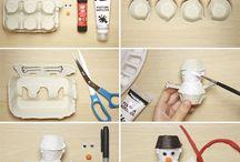 Lavoretti con pupazzo di neve