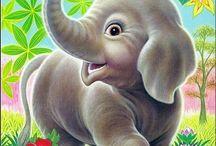 dieren voor kinderkaarten