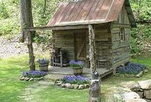 Cabin by the Pond / by Pam Hanner
