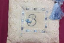 Lavander pouch / El işi lavanta keseleri