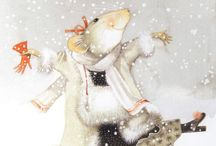Marjolein Bastin illustrations / kedvenc Marjolein Bastin illusztrációk: Vera a kisegér