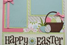 Easter layouts