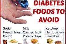 DIABETIC FOODS TO AVOIDS