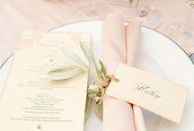 Bryllup servietter
