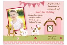 Pink Farm Baby Shower/Birthday Party / Pink Farm Baby Shower/Birthday Party