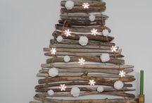 Ideas decoracion de Navidad DIY / Creativas ideas para hacer tu propio arbol de navidad y elementos decorativos navideños. Actividades navidad con niños, decoración de Navidad