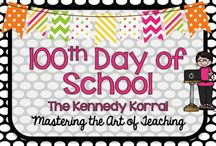 100th Day of School Ideas / Activities for kindergarten through upper elementary for the 100th day of school.  Great STEM activities for third grade, fourth grade, and fifth grade.