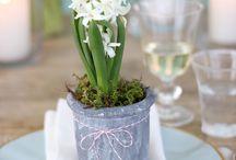 Pâques / Easter / centre de table et déco pour Pâques /  Easter centerpiece and decoration