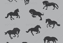 Koń pokój poli