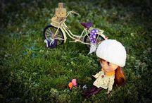 Dolls / Bonecas de outras pessoas (as minhas ficaram separadas)