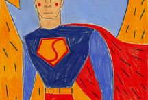Illustration : : Super-heroes / Illustrations and designs involving super-heroes, srongmen and women!!!