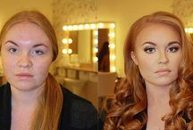 The power of makeup pictures / The power of makeup pictures. Women are posting half make-up pics to fight shaming