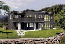 Norske hus.