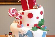 xmas cake for kids