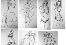 Female Poses List