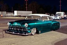 Classic cars and Trucks / The Golden Days