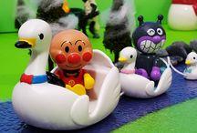 シルバニアファミリー スワンボートセット❤アンパンマン アニメ&おもちゃ