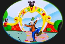 Mickey Mouse' Clubhouse bedroom mural