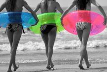 Girls filles beach
