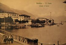 Sarnico ( Lake Iseo-Lombardy-Italy)old photos and postcards / Sarnico era una volta.. photos and historical postcards of the tourist town of sarnico Lake Iseo after dating from the period after the Second World War