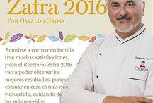 Recetario Zafra 2016 / ¡Compartí las nuevas y exquisitas recetas Osvaldo Gross!